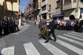 El domingo comenzaron los actos programados para la celebración del homenaje al Nazareno