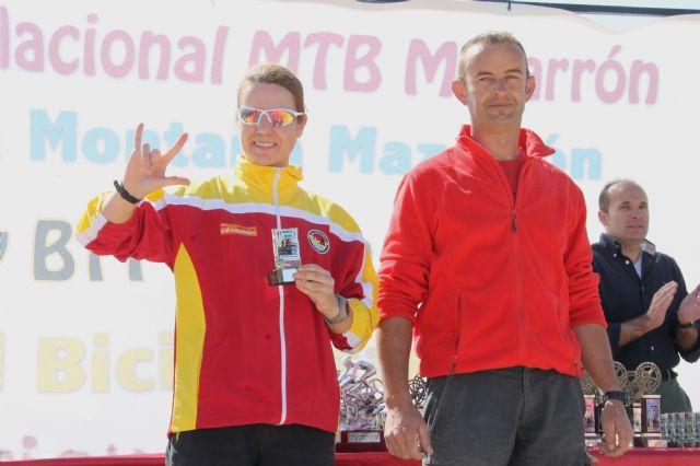 Doble medalla de oro del Club Atletismo Mazarrón en el campeonato regional júnior y I carrera de montaña de Mazarrón, Foto 3