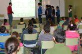 Los escolares descubren la infancia en la época romana y el paso de esta civilización por el municipio