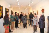 El centro de la Mujer muestra una exposición artística colectiva creada por mujeres de Puerto Lumbreras para conmemorar el Día de la Mujer Trabajadora