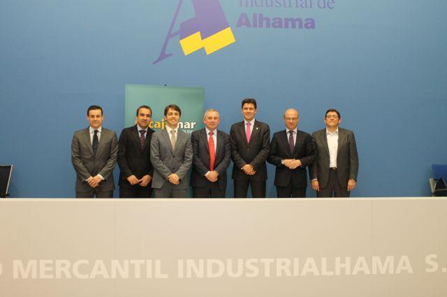 Industrialhama firma un convenio con Cajamar que ofrecerá a los empresarios del parque industrial créditos desde el 4,5% de interés, Foto 1