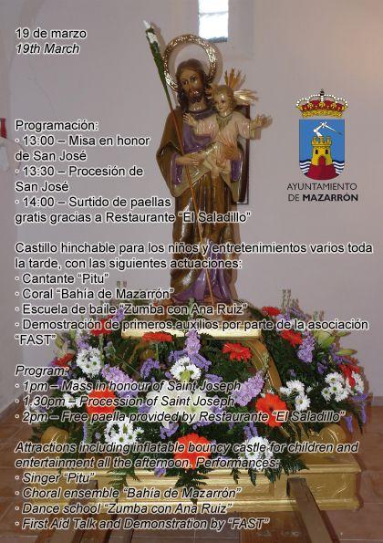 El Saladillo rinde honores a San José este miércoles 19 de marzo, Foto 2