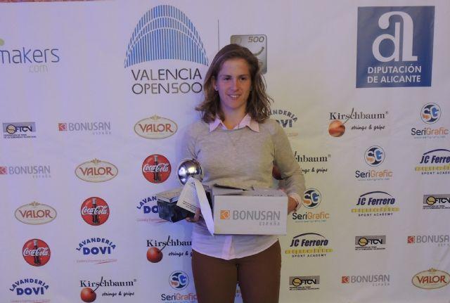 La lumbrerense Alba Pedrero se proclama campeona del XXXVI Circuito Alicantino de Tenis - 1, Foto 1
