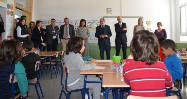 Las nuevas instalaciones del CEIP El Recuerdo de San Javier permitirán aumentar la escolarización en Primaria - 1, Foto 1