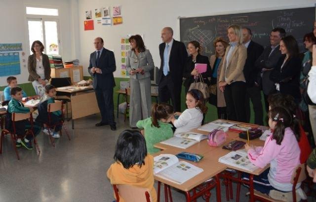 Las nuevas instalaciones del CEIP El Recuerdo de San Javier permitirán aumentar la escolarización en Primaria - 2, Foto 2