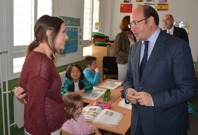 Las nuevas instalaciones del CEIP El Recuerdo de San Javier permitirán aumentar la escolarización en Primaria - 3, Foto 3