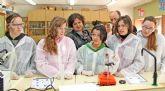 Alumnos del IES Rambla de Nogalte de Puerto Lumbreras aprenden a fabricar medicamentos