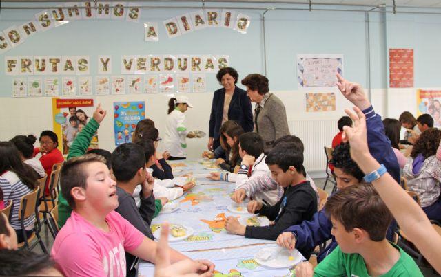 El Ayuntamiento de Puerto Lumbreras organiza Desayunos Saludables y charlas de nutrición en sus cuatro colegios - 1, Foto 1