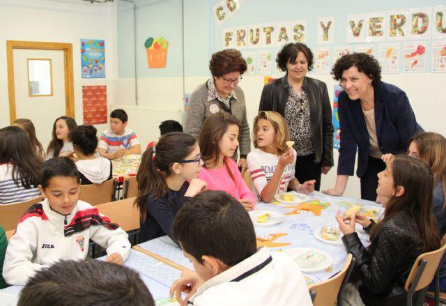 El Ayuntamiento de Puerto Lumbreras organiza Desayunos Saludables y charlas de nutrición en sus cuatro colegios - 2, Foto 2