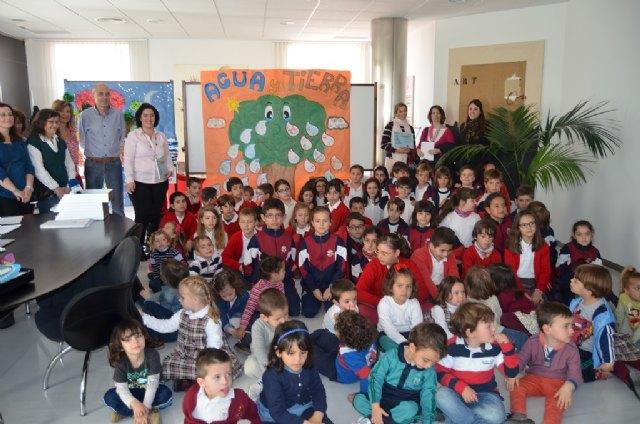Los colegios Sagrado Corazón y El recuerdo ganan el concurso de pancartas de la concejalía de Medio Ambiente - 1, Foto 1