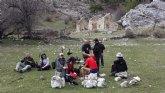 Ruta del Club Senderista de Totana por la Sierra de Cazorla