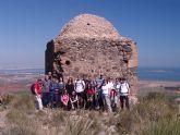 20 senderistas participan en la ruta por el Cabezo de San Ginés de la Jara, en las proximidades del Llano del Beal