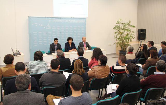 El Ayuntamiento, el INFO y el SEF organizan la jornada Apoyo al empleo y financiación empresarial en Puerto Lumbreras - 2, Foto 2