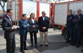 El retén de bomberos de San Pedro del Pinatar se traslada provisionalmente al puesto de Cruz Roja