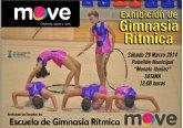 El próximo sábado 29 de marzo tendrá lugar una 'Exhibición de gimnasa rítmica' y 'Competición de natación'
