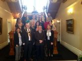 El Alcalde de Molina de Segura visita los centros galeses de Cardiff que participan en la Asociación Comenius Regio
