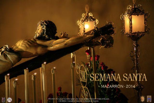 El Cristo de la Soledad anuncia la Semana Santa de Mazarrón, Foto 1
