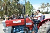 La Politécnica de Cartagena desarrolla un mecanismo automático para evitar aplastamientos de tractoristas
