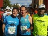 Atletas del Club de atletismo Totana participaron en varias pruebas este fin de semana en Murcia, en Librilla y en Tabernas