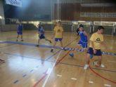 El Colegio Reina Sofia y el IES Juan de la Cierva participaron en la final de la fase intermunicipal de baloncesto y futbol sala de Deporte Escolar