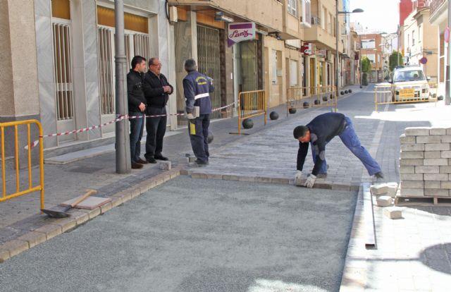El Ayuntamiento realiza obras de mejora en la calle Mayor de Puerto Lumbreras - 1, Foto 1