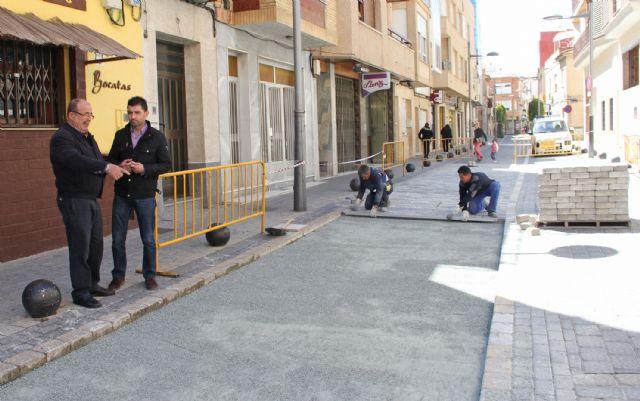El Ayuntamiento realiza obras de mejora en la calle Mayor de Puerto Lumbreras - 2, Foto 2