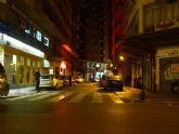 La calle Lepanto luce nueva iluminación