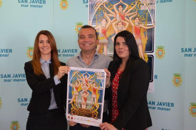 Los mejores equipos de gimnasia estética compiten por el título regional este fin de semana en San Javier - 1, Foto 1