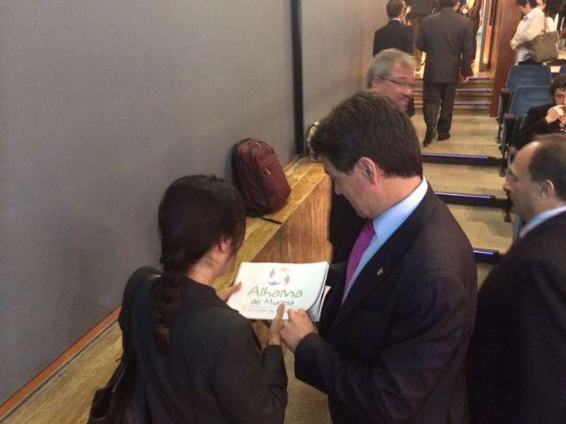 El alcalde de Alhama de Murcia intenta captar capital chino, Foto 1