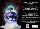 San Javier apagará luces para sumarse a la Hora del Planeta