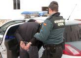 Detenido un peligroso delincuente dedicado a cometer robos con violencia, robos en viviendas y a traficar con drogas en Totana