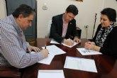 El Ayuntamiento de Alhama firma convenios con Cruz Roja, Las Flotas y la Fundaci�n Francisco Munuera