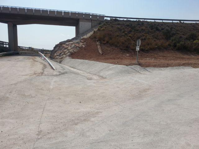 Agricultura logra que se realicen obras en el margen de la autovía A 7, Foto 1