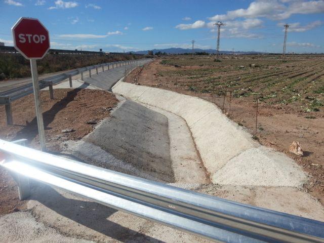Agricultura logra que se realicen obras en el margen de la autovía A 7, Foto 3