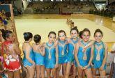 Gimnasia a todo color en la primera jornada de la Competición Escolar