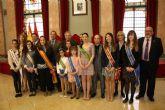 El Alcalde recibe a las ocho candidatas a Abanderada de la Fiesta de Moros y Cristianos