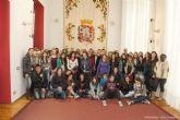 Cuarenta chavales de Comenius exponen su trabajo en Cartagena
