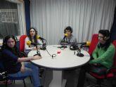 Alumnos de tres institutos de Molina conocen de cerca como es la radio por dentro