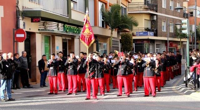 Más de 300 músicos de la Región de Murcia y Andalucía participan en el XII Encuentro de Bandas de Semana Santa - 1, Foto 1