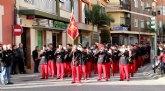 Más de 300 músicos de la Región de Murcia y Andalucía participan en el XII Encuentro de Bandas de Semana Santa
