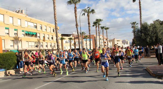 Arturo García García se proclama campeón de la Media Maratón que congregó a más de 200 atletas en Puerto Lumbreras - 1, Foto 1