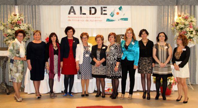 La Asociación de Enfermos de Alzheimer de Puerto Lumbreras ALDEA congrega a más de 200 personas en su comida-gala benéfica anual - 1, Foto 1