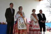 El Alcalde expresa su 'reconocimiento' a la Reina infantil y mayor por su 'excelente labor como representantes de Murcia y de sus peñas'