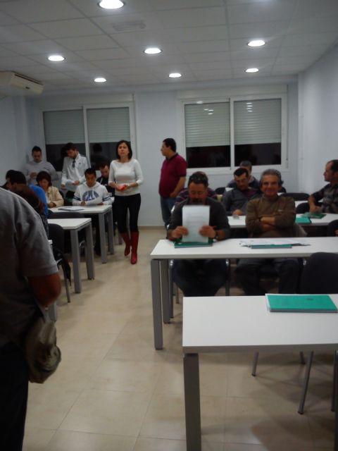 Finaliza el curso de 'aplicador de fitosanitarios básico', Foto 1