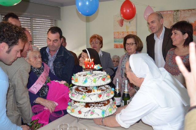 San Javier tiene una nueva vecina centenaria - 1, Foto 1