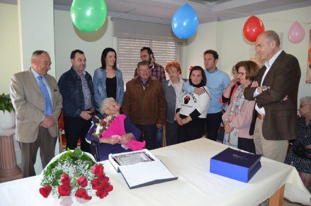 San Javier tiene una nueva vecina centenaria - 2, Foto 2