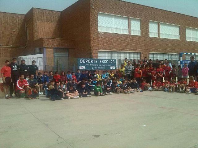 Jornada de Deporte Escolar. Se celebró el pasado sábado en el colegio Concepción Arenal en la categorías de balonmano, voleibol y multideporte - 1, Foto 1