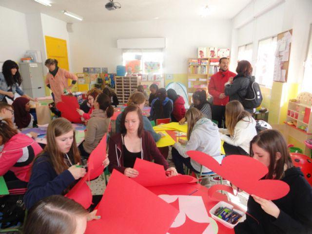 Un grupo de estudiantes europeos participa en un programa de intercambio escolar con el colegio Susarte torreño - 4, Foto 4