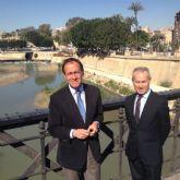 El Alcalde y el Presidente de la CHS presentan un nuevo proyecto que impulsará la recuperación ambiental del Segura