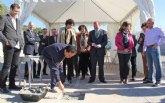 La Alcaldesa y el Consejero de Educación colocan la primera piedra de la nueva Escuela Infantil que se construirá junto al CEIP Asunción Jordán